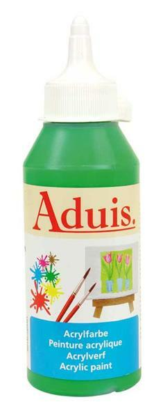 Aduis Acrylfarbe - 250 ml, permanentgrün
