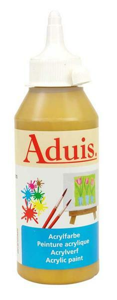 Aduis Acrylfarbe - 250 ml, gold