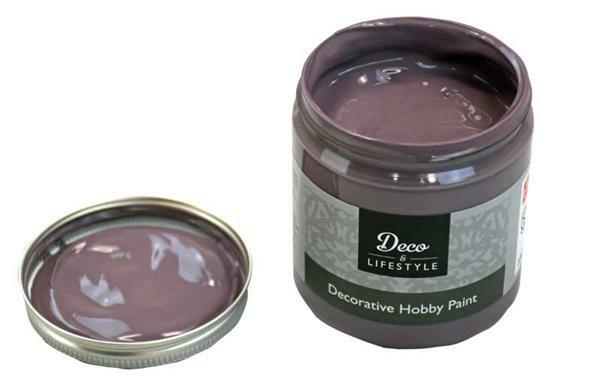 Peinture à la craie - 230 ml, taupe