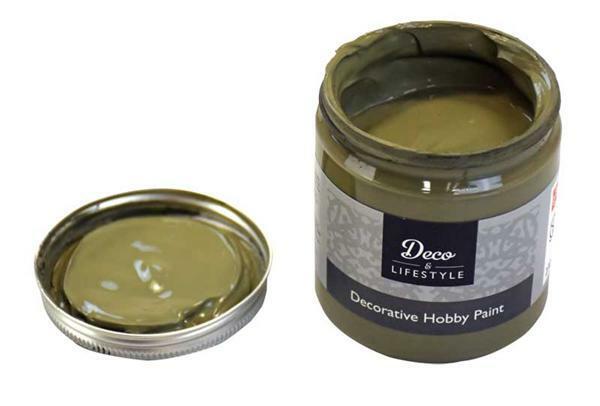Kreidefarbe - 230 ml, olive