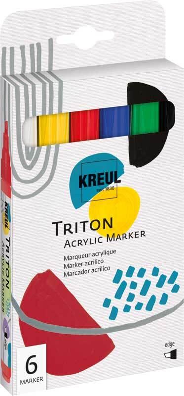 Acrylic Paint Marker set - 1 - 4 mm, bont