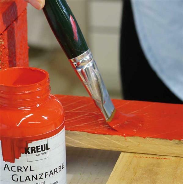 Acryl glansverf - 50 ml, rood