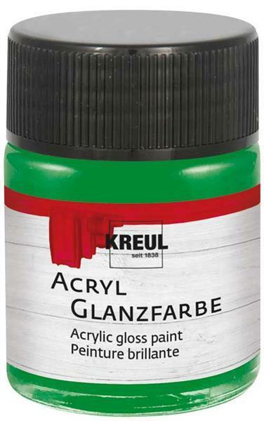 Acryl Glanzfarbe - 50 ml, dunkelgrün