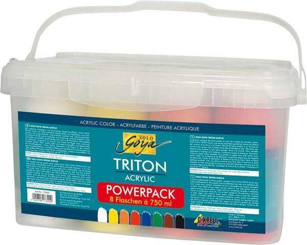 Powerpack - Triton Acrylic Universalfarbe Set