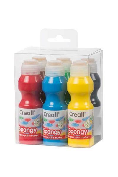 Creall Spongy Plakatfarben Set