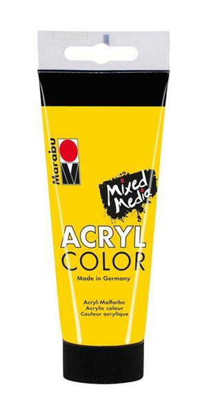 Marabu Acryl Color - 100 ml, geel
