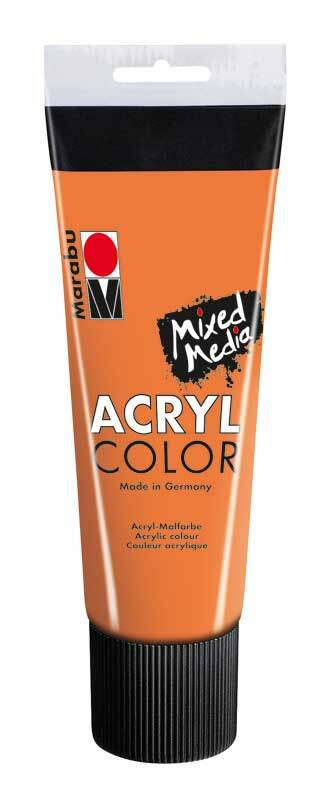 Marabu Acryl Color - 100 ml, oranje