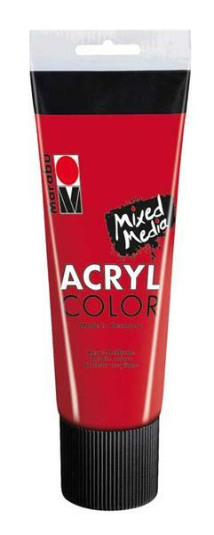 Marabu Acryl Color - 100 ml, kersenrood