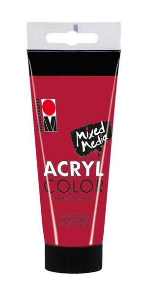 Marabu Acryl Color - 100 ml, rouge carmin