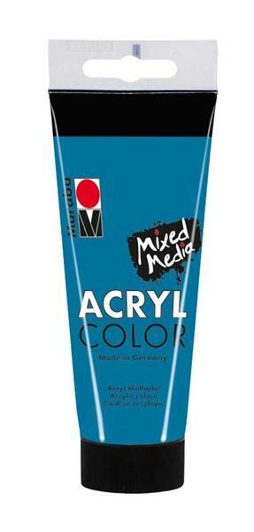 Marabu Acryl Color - 100 ml, cyaan