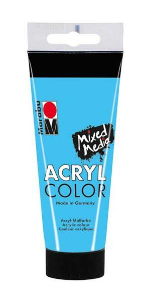 Marabu Acryl Color - 100 ml,  bleu clair