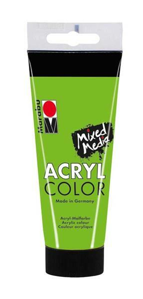 Marabu Acryl Color - 100 ml, blattgrün