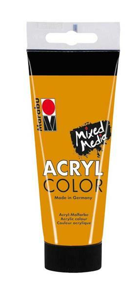Marabu Acryl Color - 100 ml, ocker