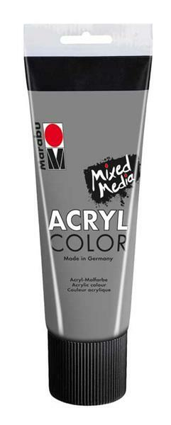 Marabu Acryl Color - 100 ml, donkergrijs