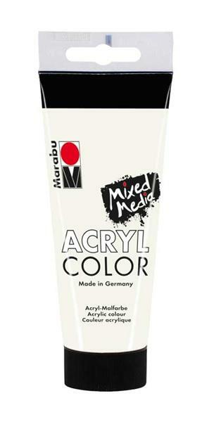 Marabu Acryl Color - 100 ml, blanc
