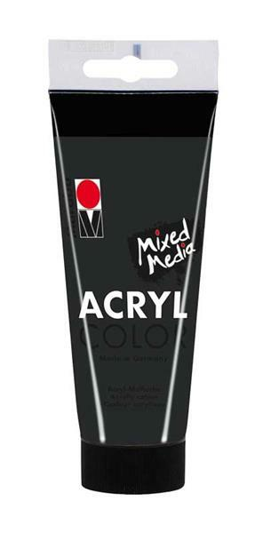 Marabu Acryl Color - 100 ml, zwart