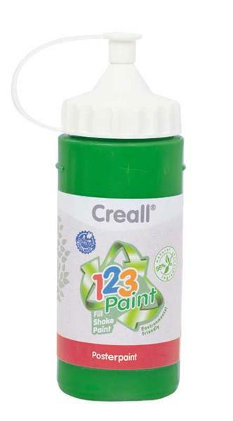 Creall 1-2-3 Paint recharge - 3 pces, vert
