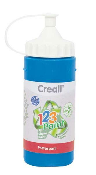Creall 1-2-3 Paint Nachfüllfarbe - 3 Stk, blau