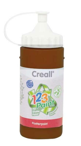 Creall 1-2-3 Paint recharge - 3 pces, brun