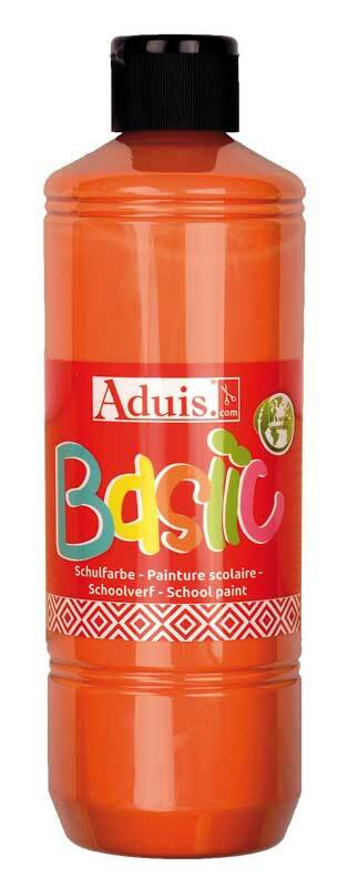 Gouache Basiic Aduis - 500 ml, orange