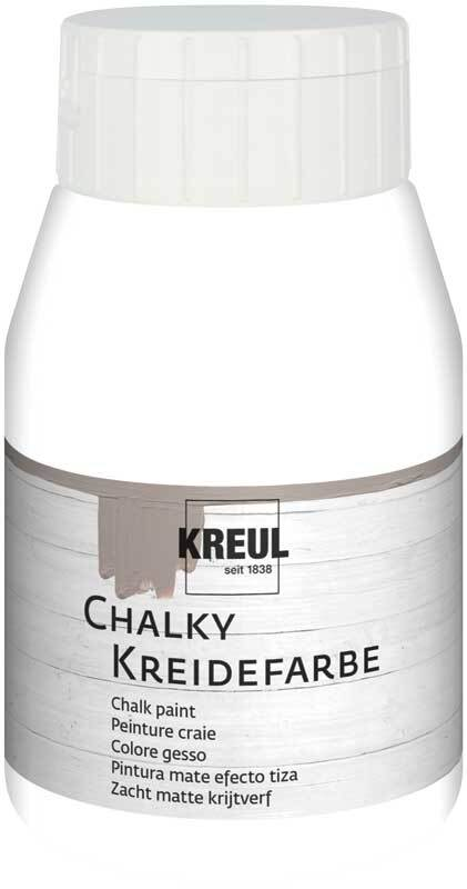 Chalky krijtverf - 500 ml, snow white