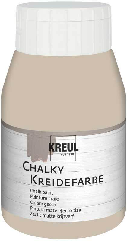 Chalky krijtverf - 500 ml, noble nougat