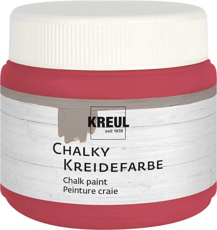 Chalky krijtverf - 150 ml, cozy red