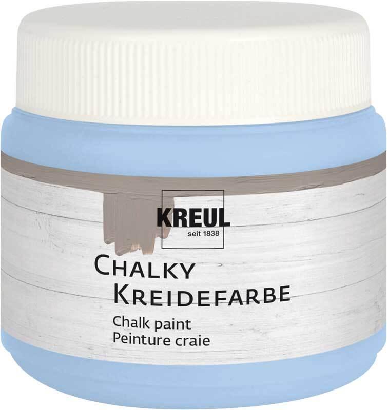 Chalky Peinture à la craie - 150 ml, vintage blue
