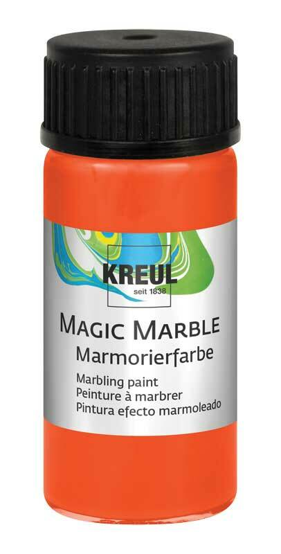 Marmorierfarbe - 20 ml, orange