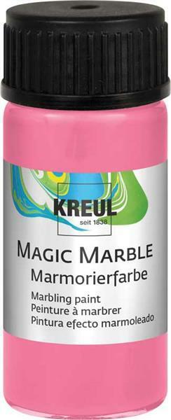 Marmerverf - 20 ml, roze
