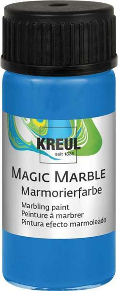Marmerverf - 20 ml, blauw
