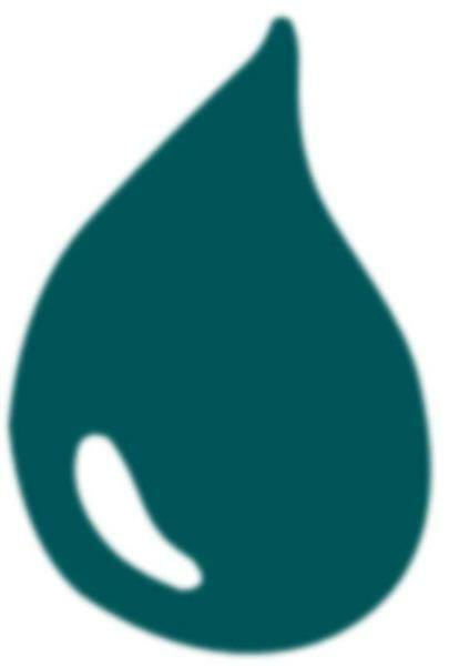 Peinture à marbrer - 20 ml, turquoise