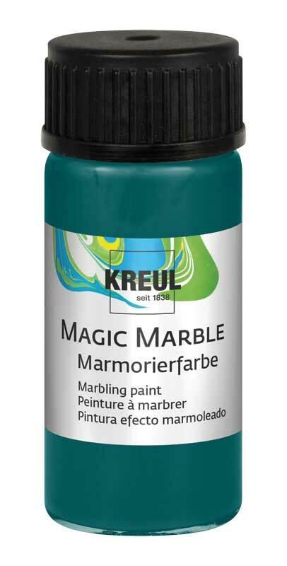 Marmorierfarbe - 20 ml, türkis
