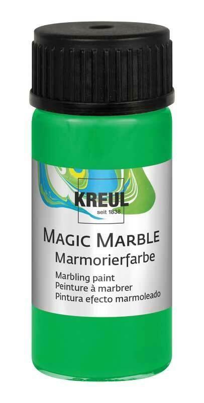 Marmorierfarbe - 20 ml, hellgrün
