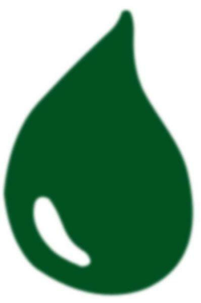 Peinture à marbrer - 20 ml, vert
