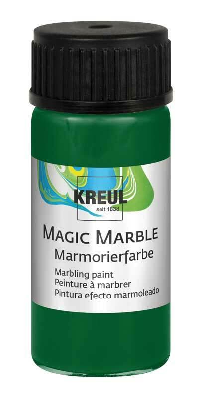 Marmerverf - 20 ml, groen