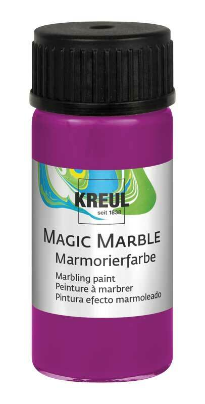 Marmorierfarbe - 20 ml, magenta
