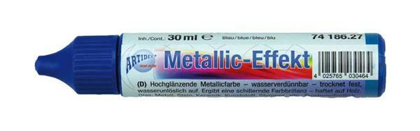 Metaalglans-effectcolour - 30 ml, blauw