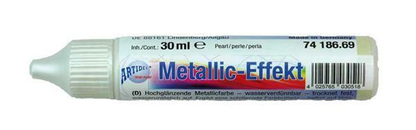 Metaalglans-effectcolour - 30 ml, parel
