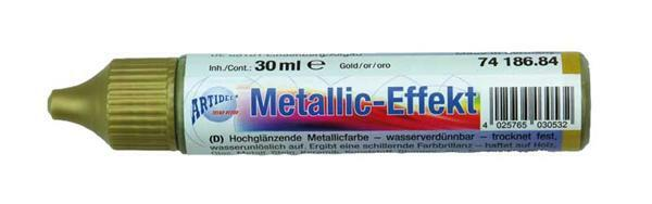 Metaalglans-effectcolour - 30 ml, goud