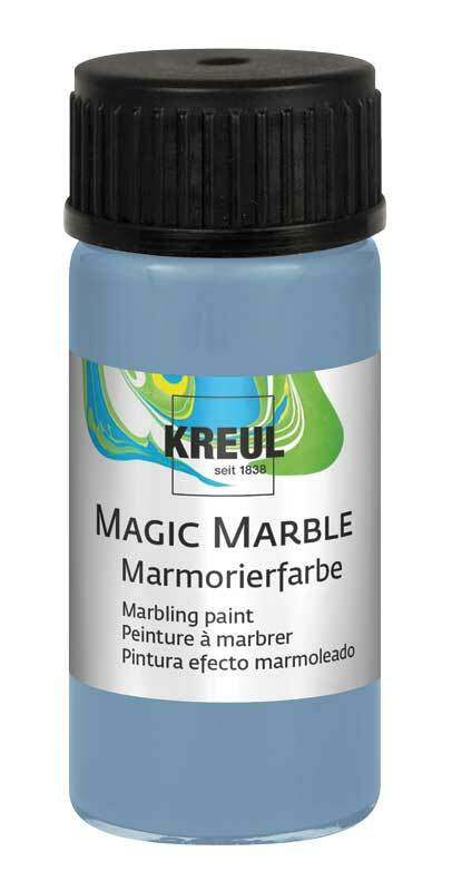 Marmorierfarbe - 20 ml, sir petrol