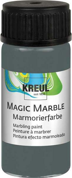 Marmorierfarbe - 20 ml, volcanic gray