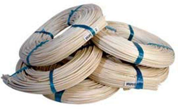 Bande de rotin - 500 g, 5,5 mm, demi-rond
