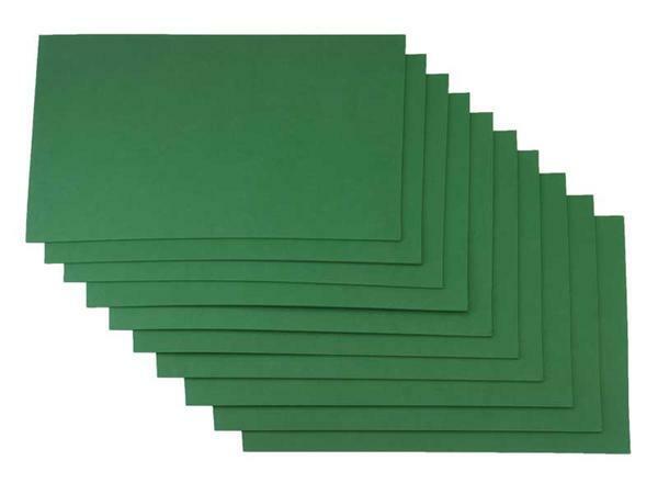 Moosgummi - 10er Pkg, 20 x 29 cm, tannengrün