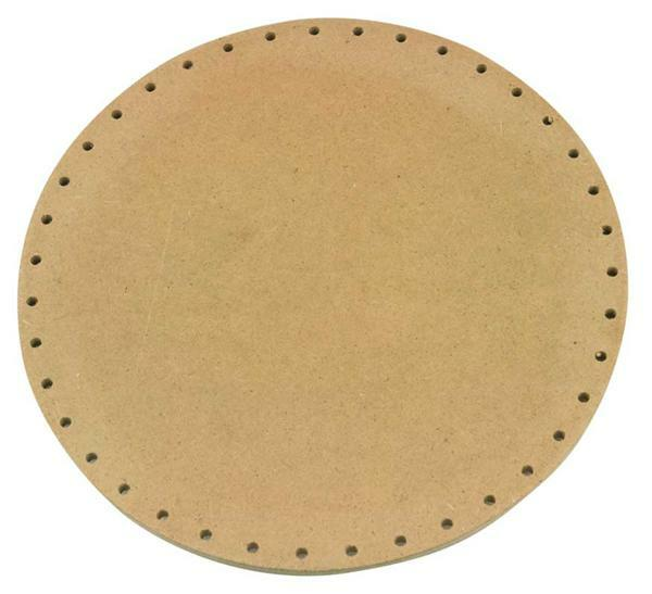 Mandvlechtbodem - rond, Ø 22 cm