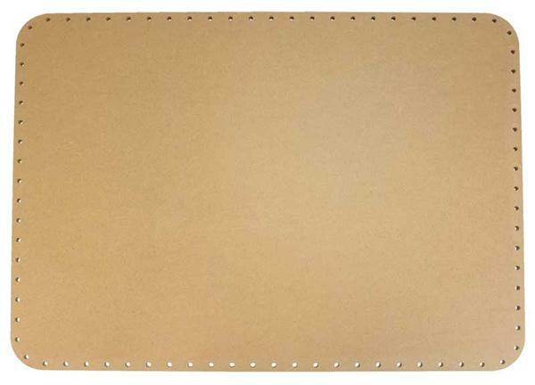 Korbflechtboden - rechteckig, 45 x 33 cm