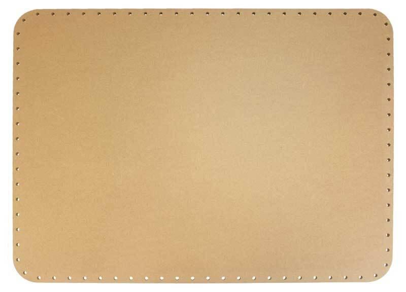 Mandvlechtbodem - rechthoekig, 45 x 33 cm