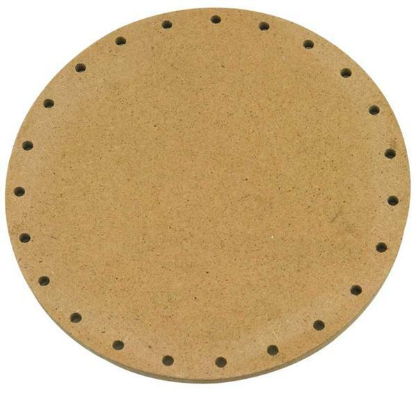 Mandvlechtbodem - rond, Ø 15 cm
