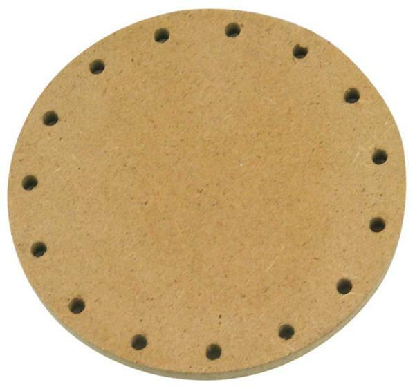 Korbflechtboden - rund, Ø 10 cm