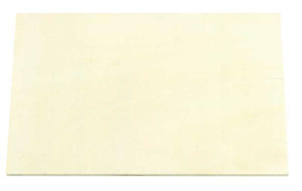 Houten schild - rechthoek, 20 x 13 cm